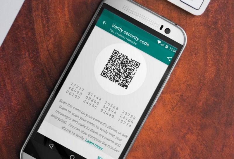 como funciona a criptografia do WhatsApp