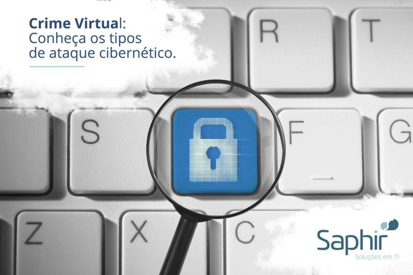 Crime virtual conheça os tipos de ataque cibernético