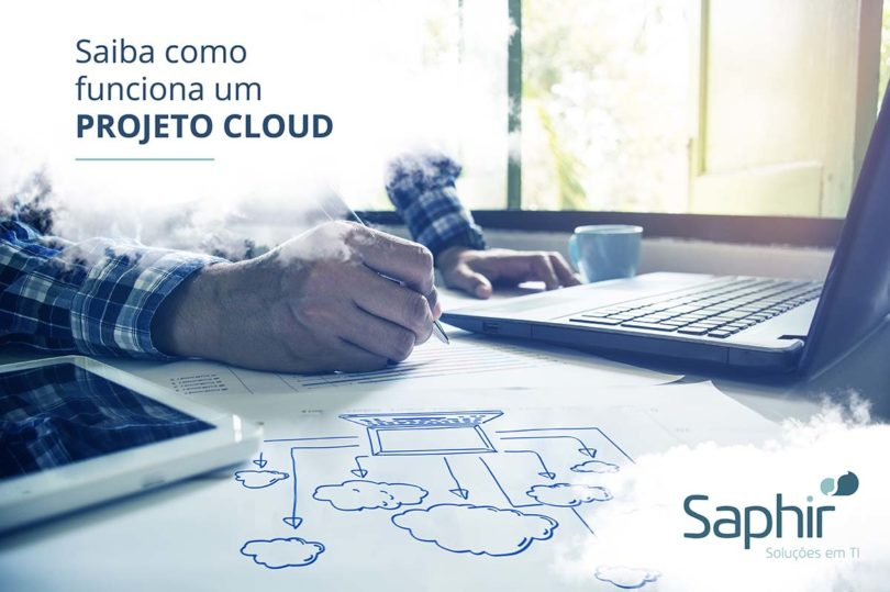 Saiba como funciona um projeto cloud