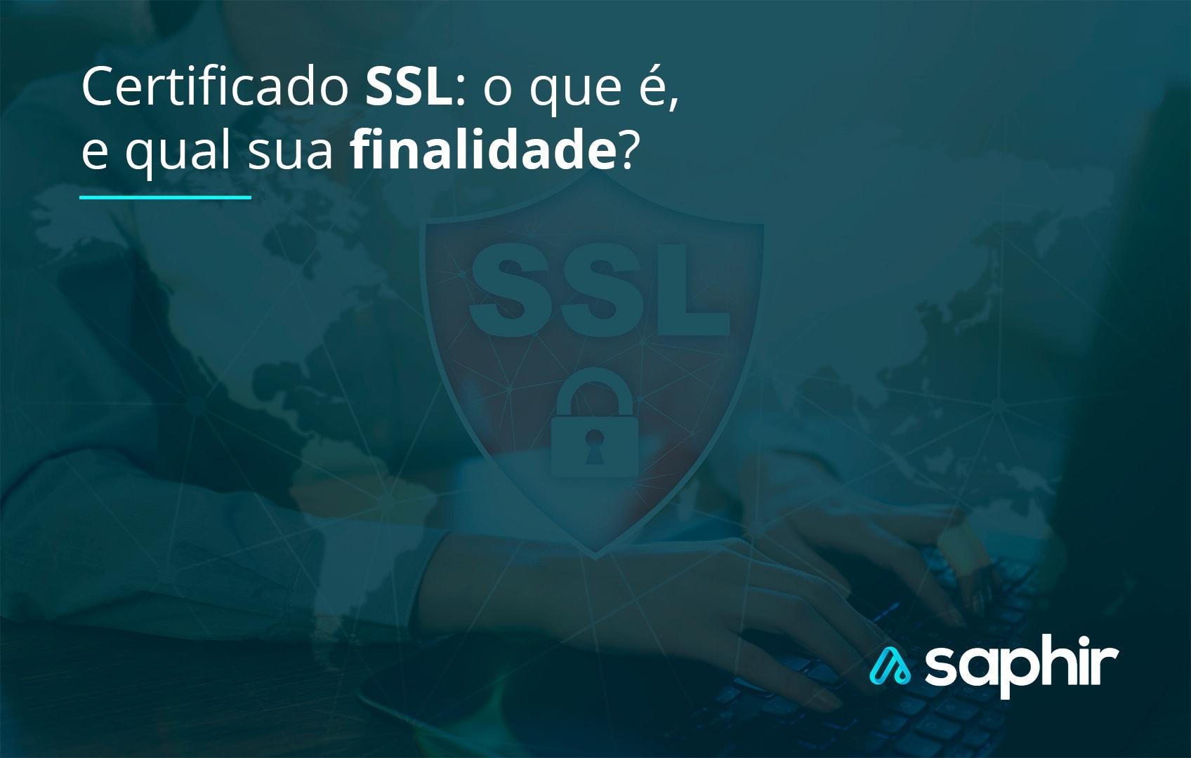 certificado ssl o que é