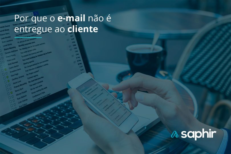 Por que o e-mail não é entregue ao cliente
